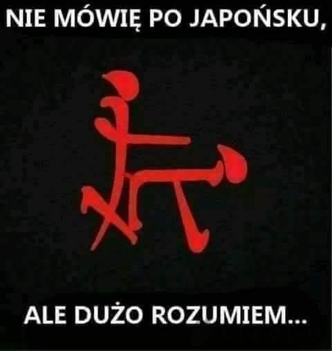 Po japońsku...