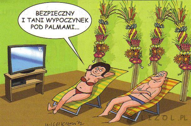 Wypoczynek pod palmami