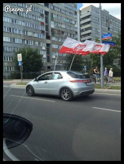 Myślisz że masz odpowiednie flagi w samochodzie